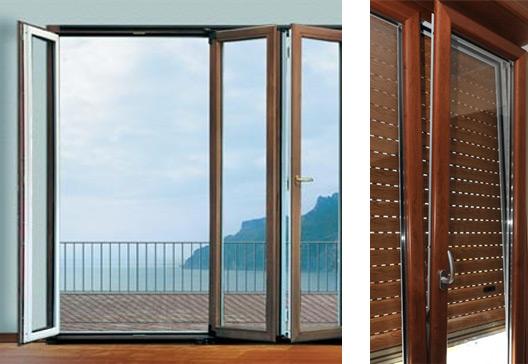Finestre alluminio legno infissi su misura epp roma - Condensa su finestre in alluminio ...
